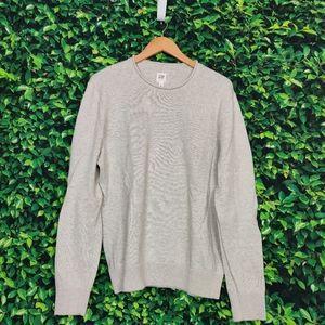 Gap Cream Long Sleeve Sweatshirt